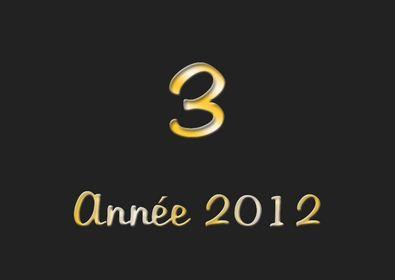 Top 3 2012