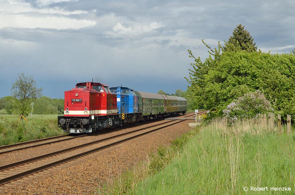 112 565 und 204 036 heute auf dem Rückweg aus Görlitz