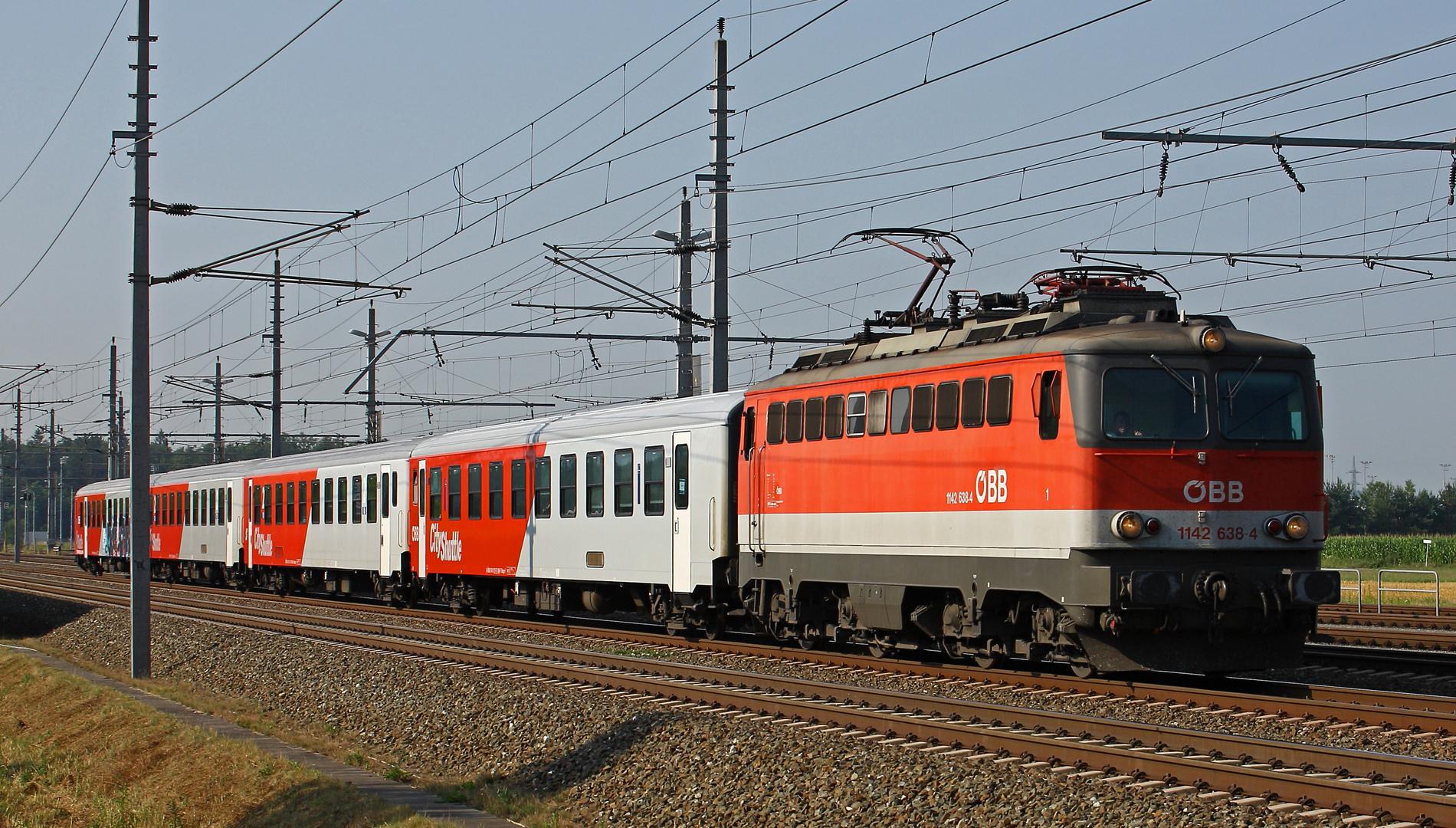 '1142 638 auf der Südbahn...'
