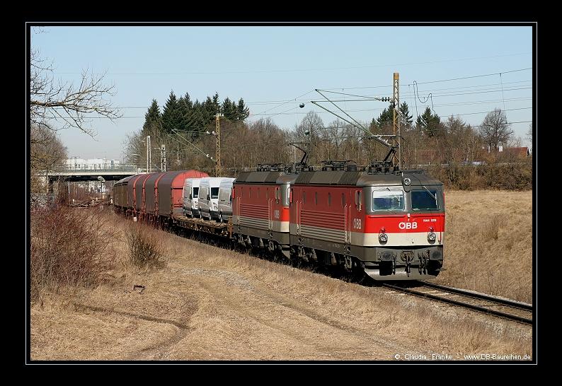 1144-Doppel auf der Truderinger Spange
