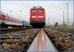 115 114 in Pasing Betriebsbahnhof