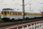 """120 501-2 mit Meßzug, von """"Hinten"""""""