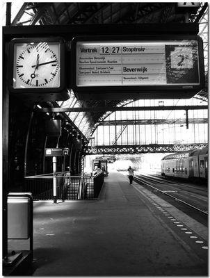 12:14 Amsterdam Central Station