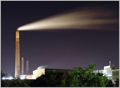 Industrie nachts