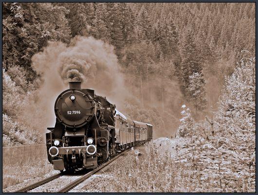 125 Jahre Höllentalbahn - Dampflokfahrt Titisee - Donaueschingen I