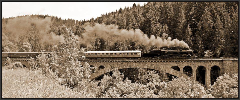 125 Jahre Höllentalbahn - Dampflokfahrt Titisee - Donaueschingen II