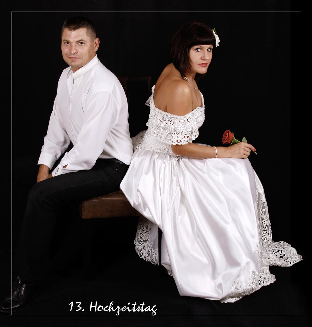 13. Hochzeitstag