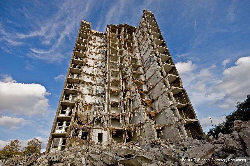 13-Stockwerke-Ruine