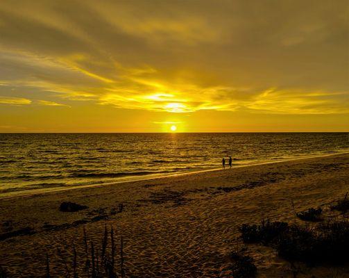 _-133Sonnenuntergang am Golf von Mexico