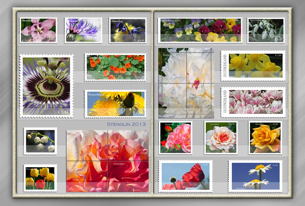 135-13 Briefmarkensammlung