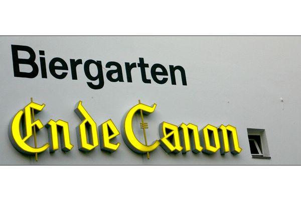 14. Biergarten - Ende Canon