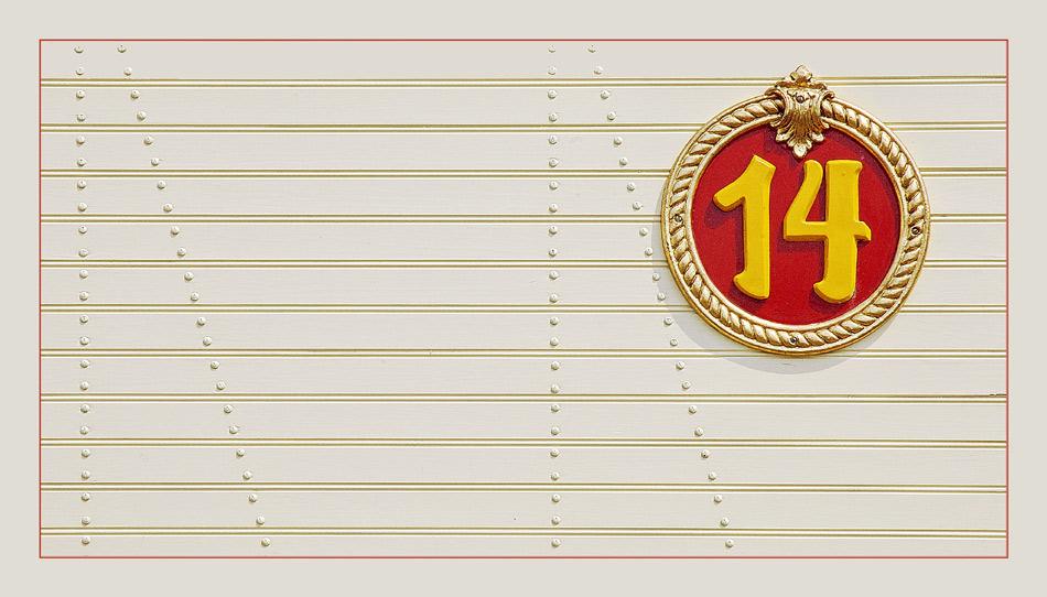 """""""14""""- Nr. 1 der Serie"""