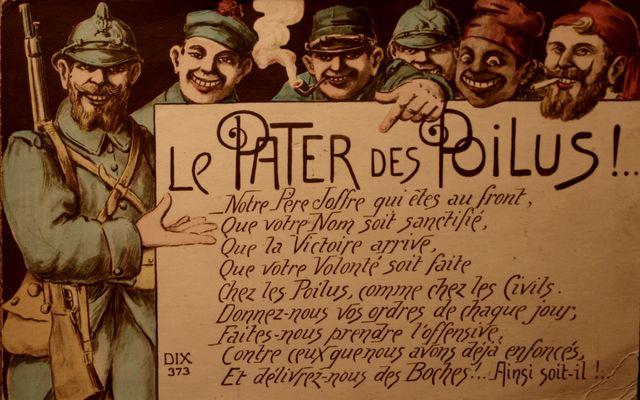 14/18 PRIERE DES POILUS