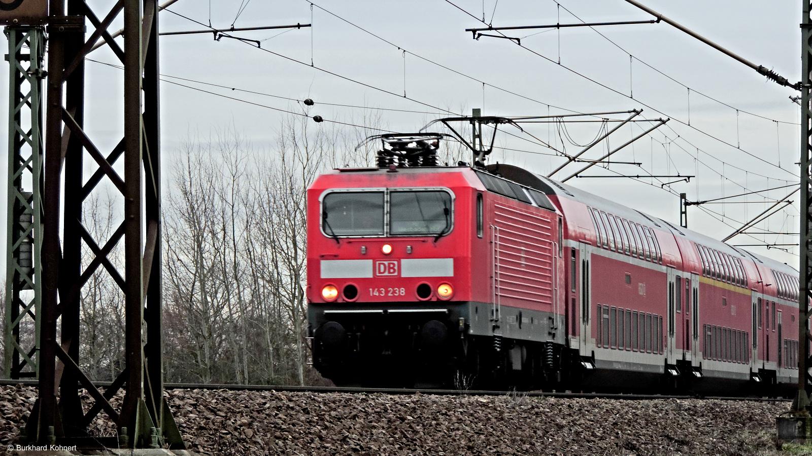 143 238 mit RB75 nach Wiesbaden