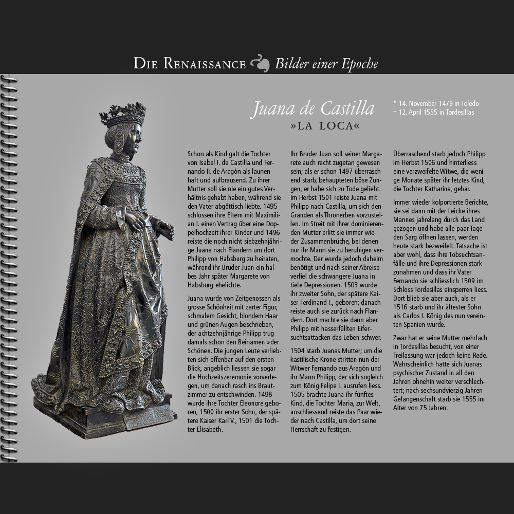 1479 • Juana de Castilla »la Loca«