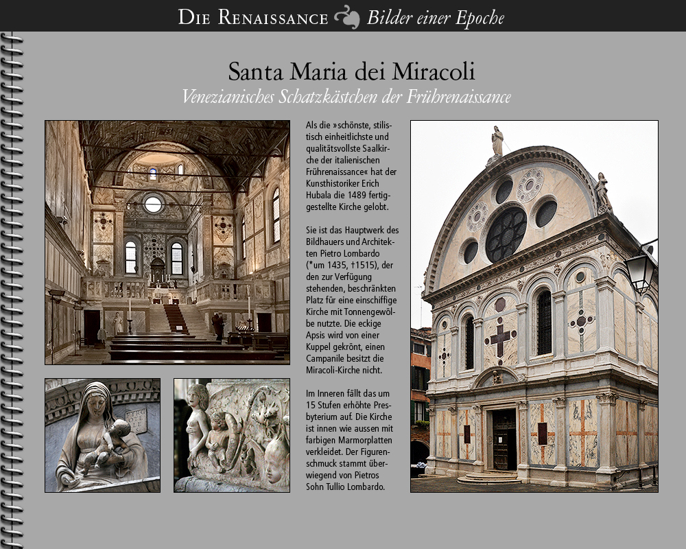 1489 • Venezia | Santa Maria dei Miracoli