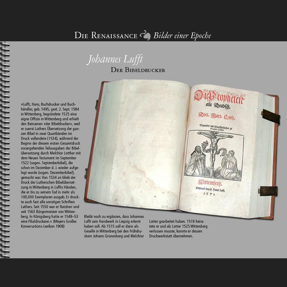 1495 • Johannes Lufft, Wittenberg