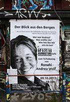 15. Todestag von Ronahi - Andrea Wolf