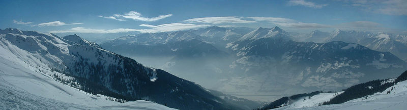 150 Grad Panorama vom Wiedersberger Horn 2128m / Alpbachtal in Tirol