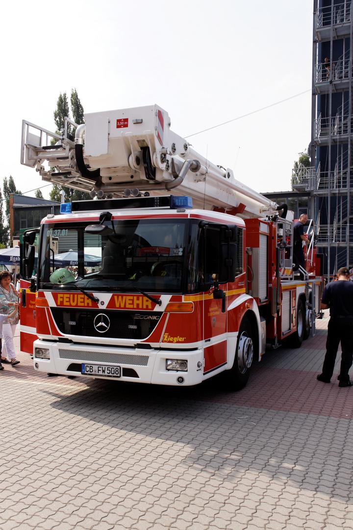 150 Jahre Feuerwehr Cottbus