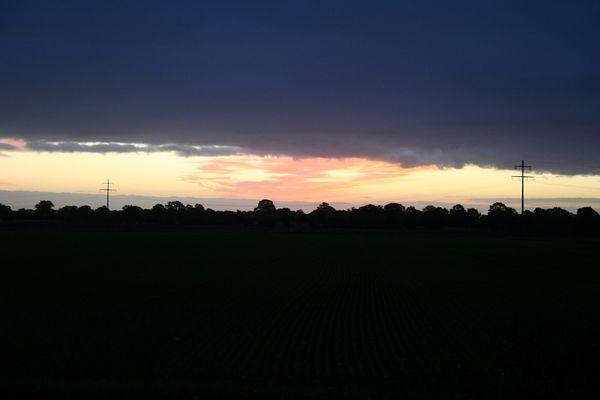 15.10.2010 Sonnenaufgang Bild 1