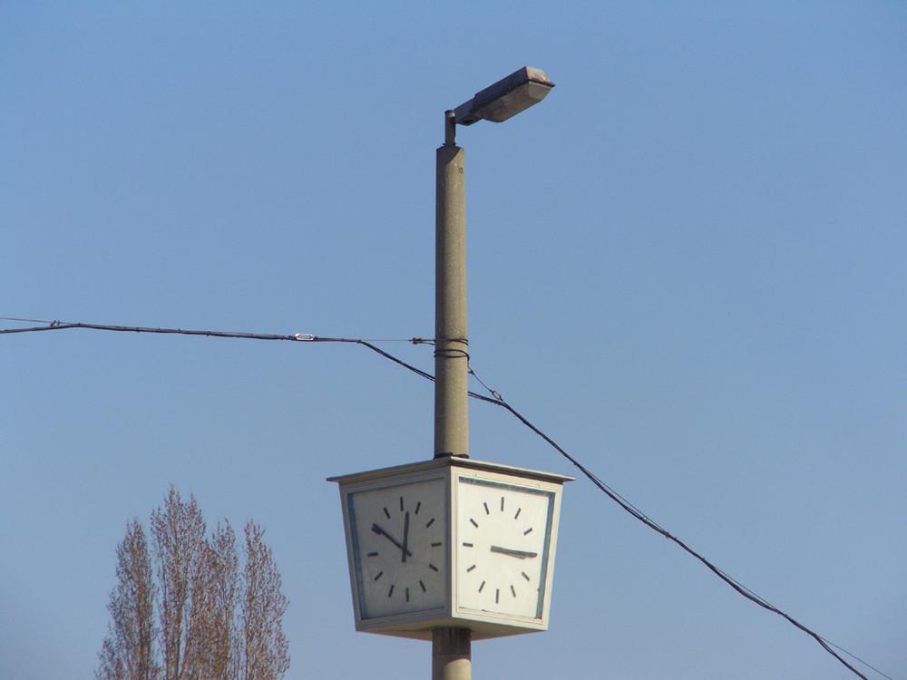 --- 15:15 ---   Immer 15:15 ... #3 Zeit an der Lampe