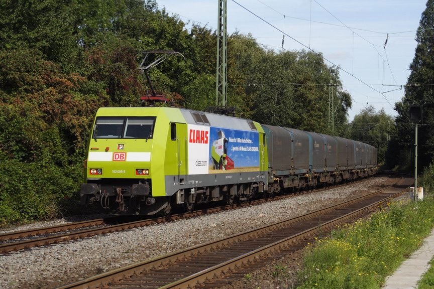 152 005 mit CSQ 60342 Göttingen-Nievenheim Pünktlich,wie Immer!!
