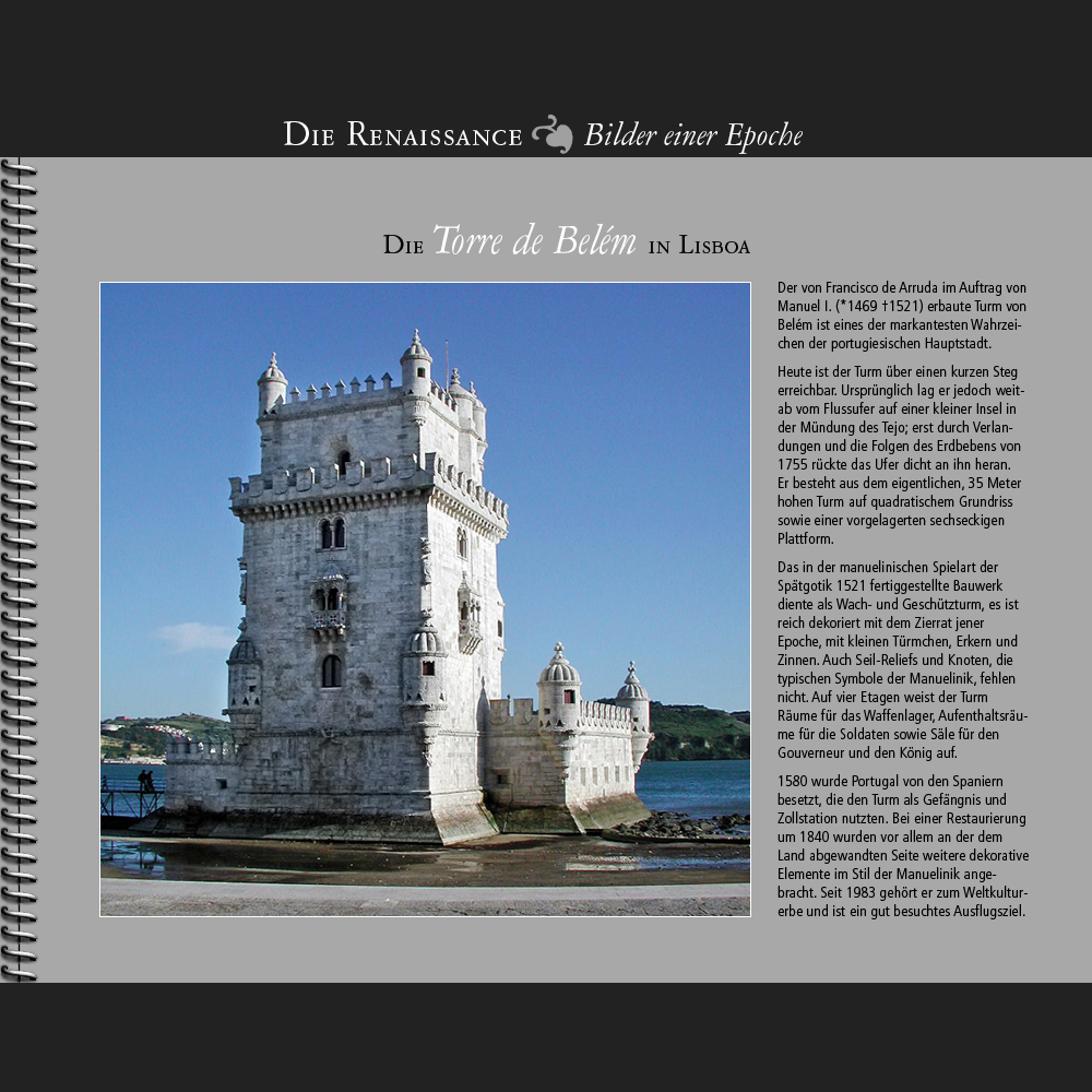 1521 • Lisboa | Torre de Belém