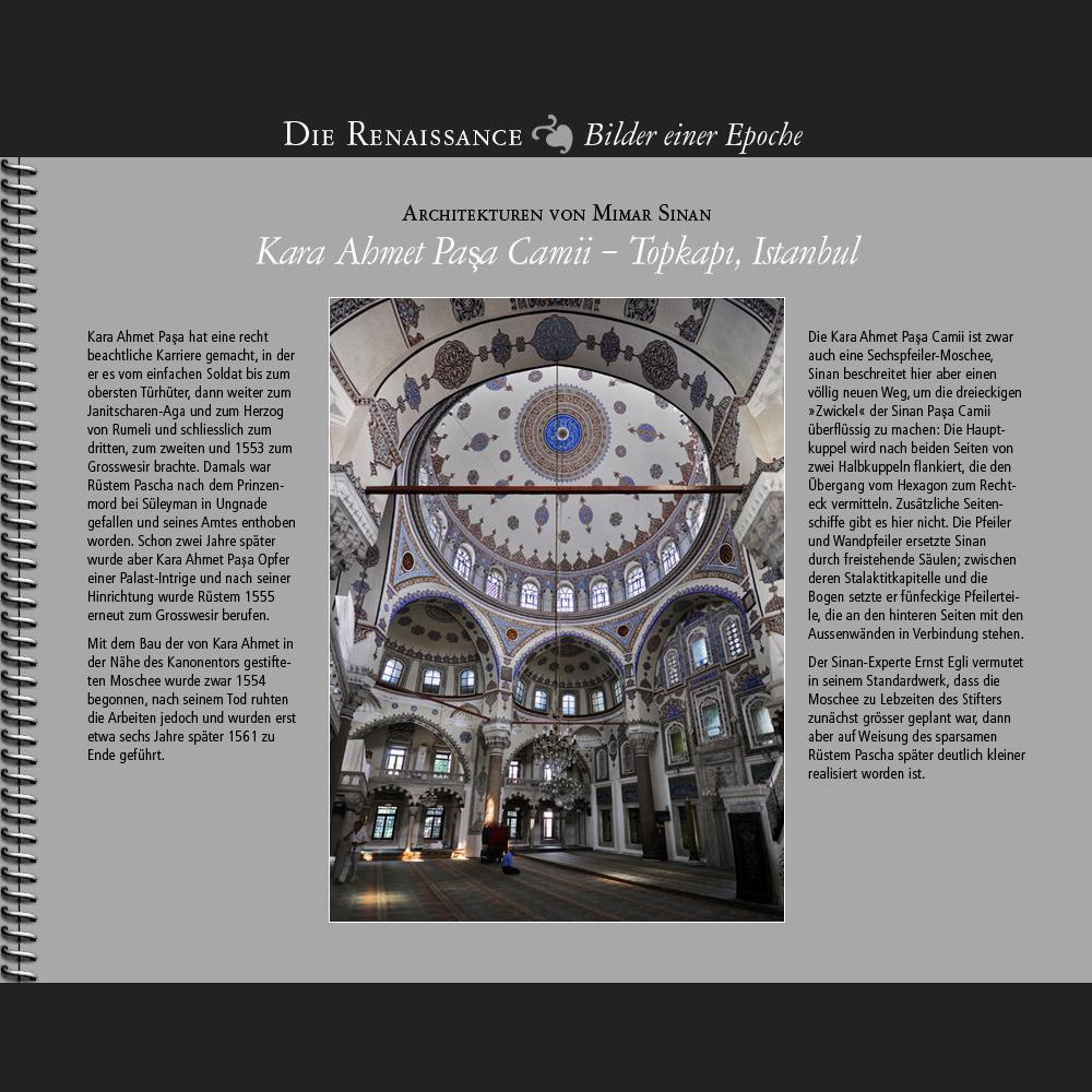 1554 • Kara Ahmet Pasa Camii