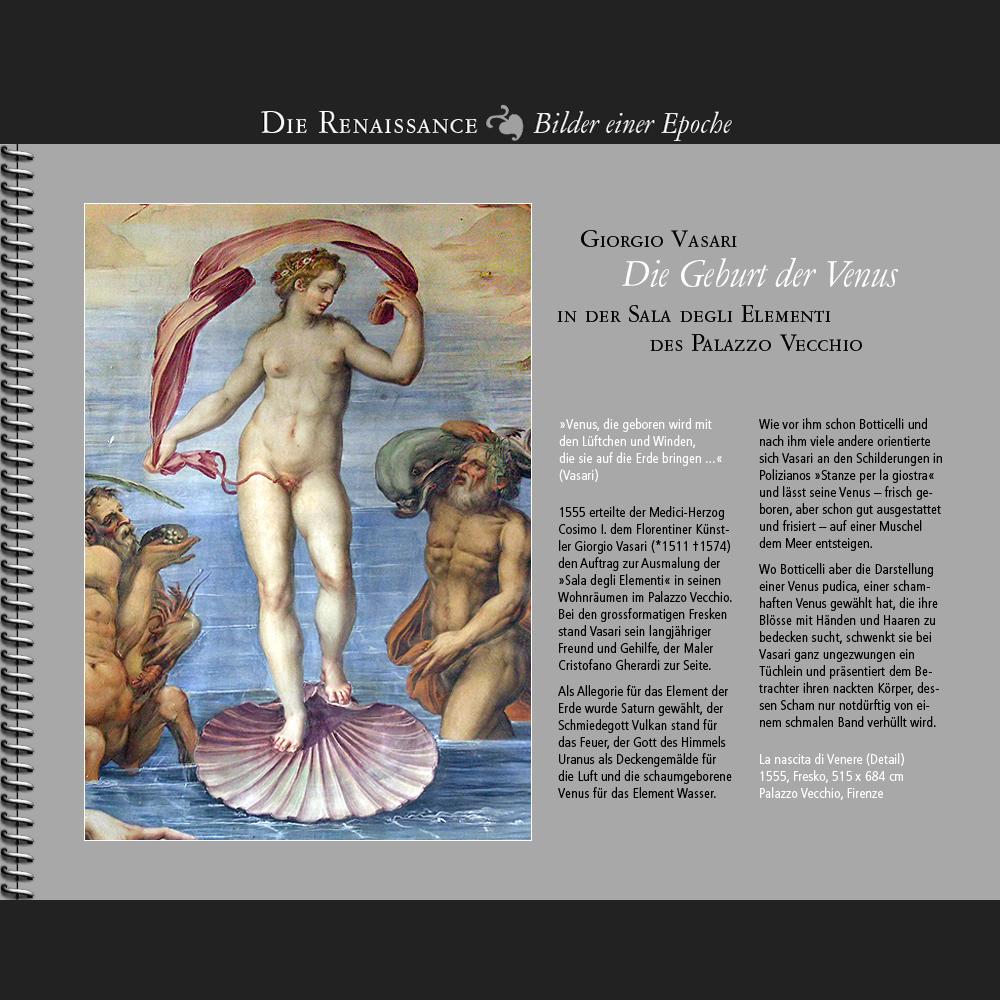 1555 • Vasari | Die Geburt der Venus