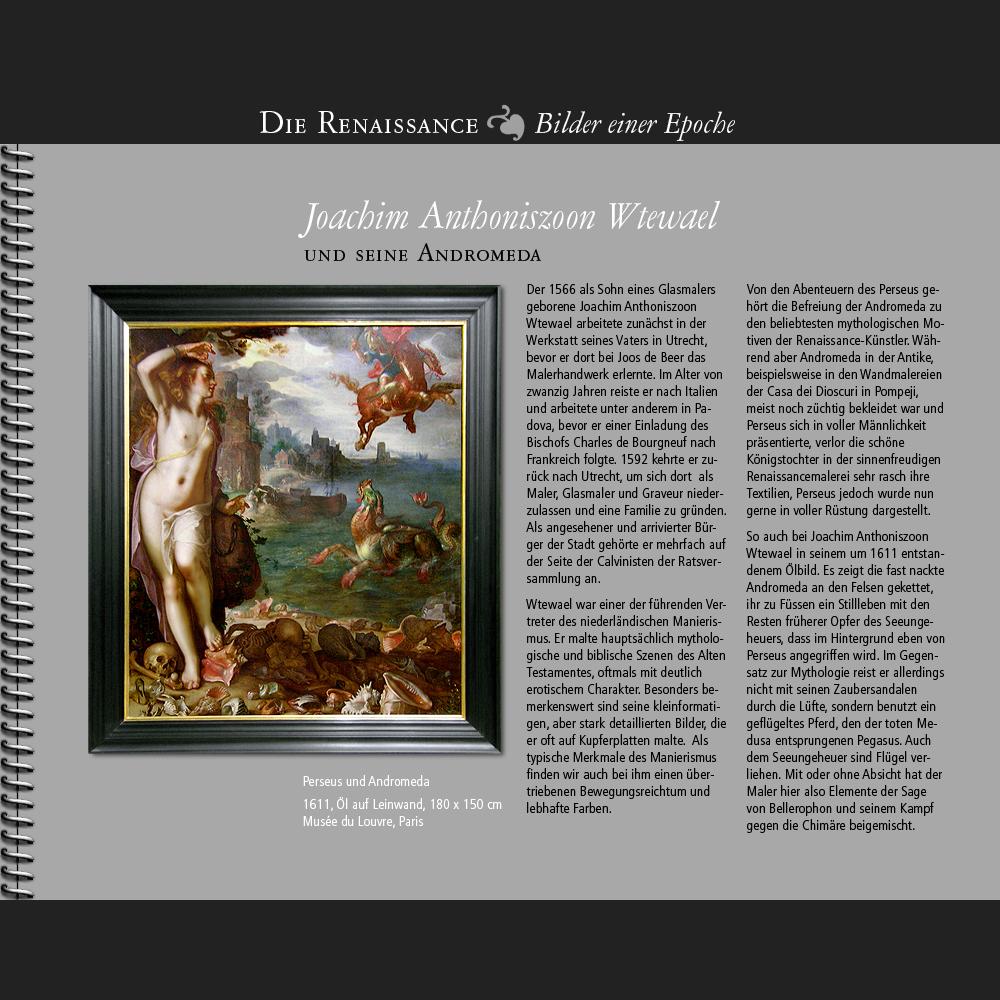 1566 • Joachim Anthoniszoon Wtewael | Andromeda