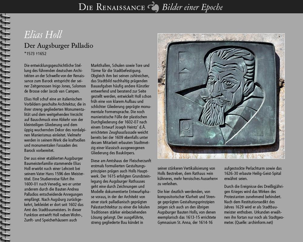 1573 • Elias Holl, Augsburg