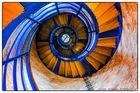162 Stufen Aufstieg zur schönsten Aussicht (Flügger Leuchtturm)
