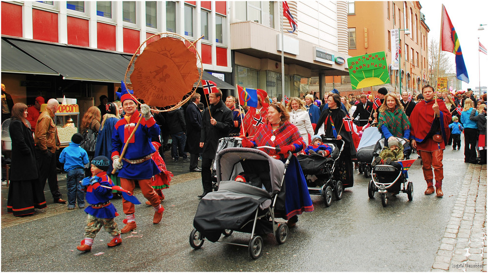 17. Mai - Nationalfeiertag in Norwegen (1)