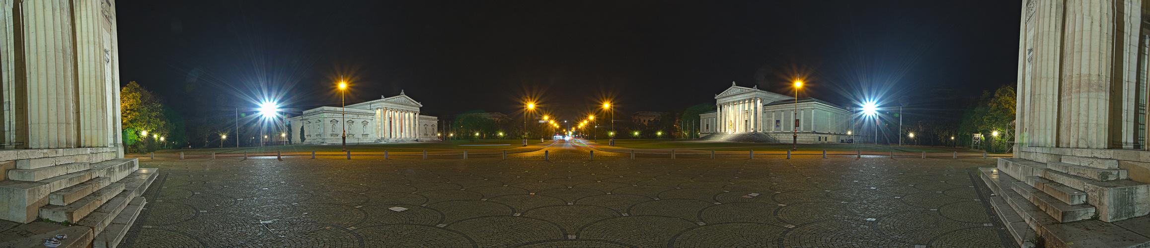 180° Panorama vom Königsplatz