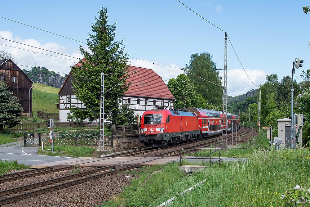 182 mit S-Bahn