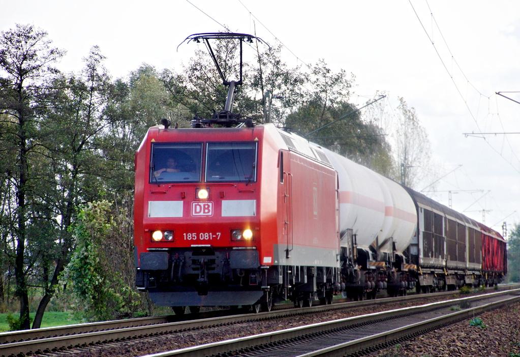 """185 081-7 - """"Kurzzug"""""""