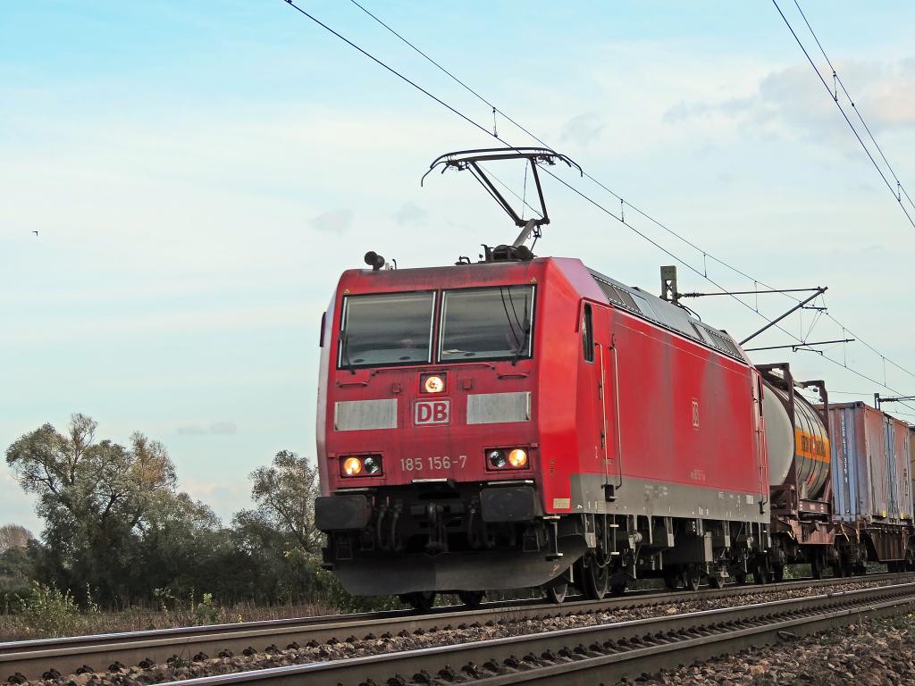 185 156 - Güterzug