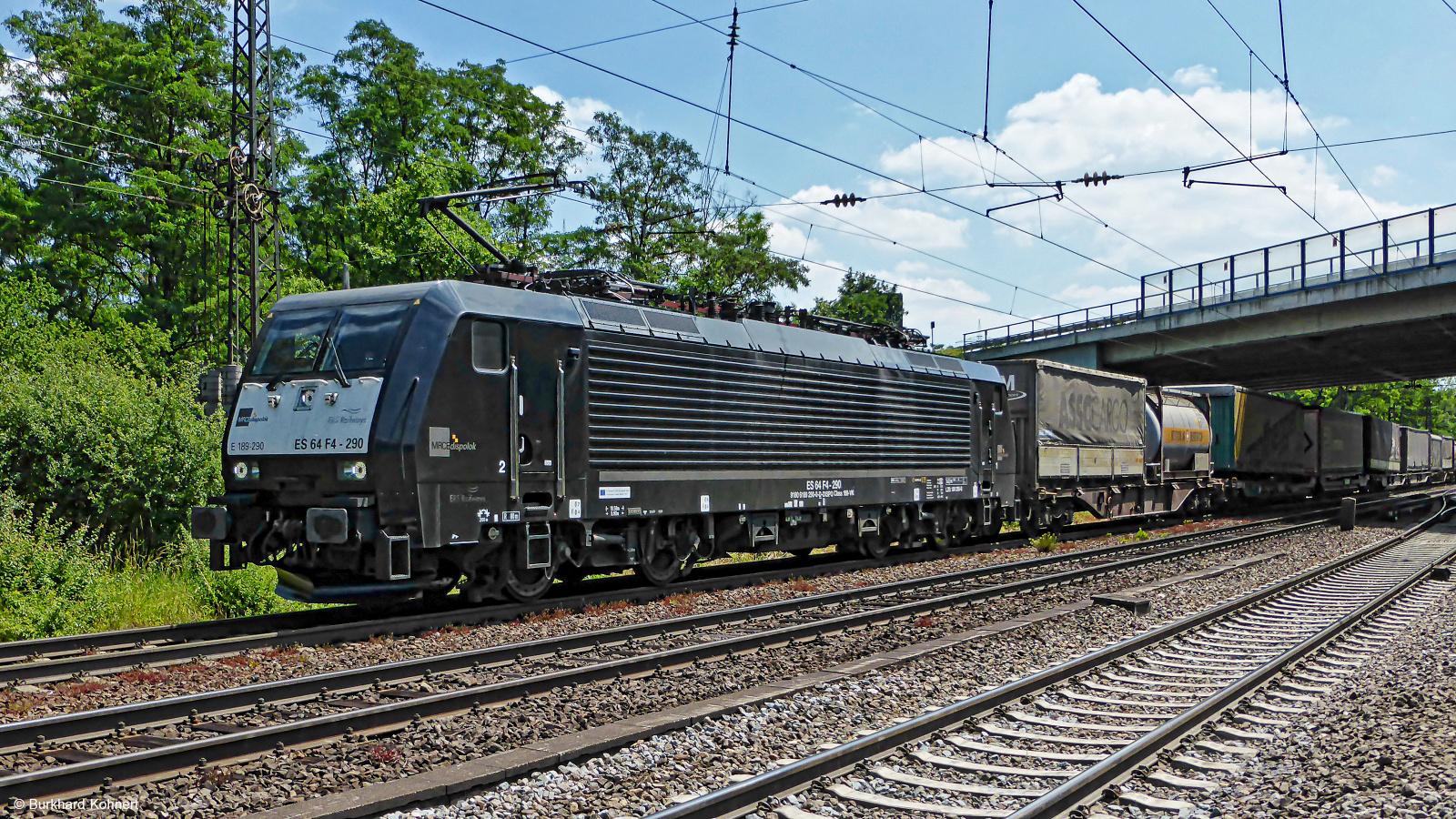 189 290 ES 64 F4-290 MRCE dispolok