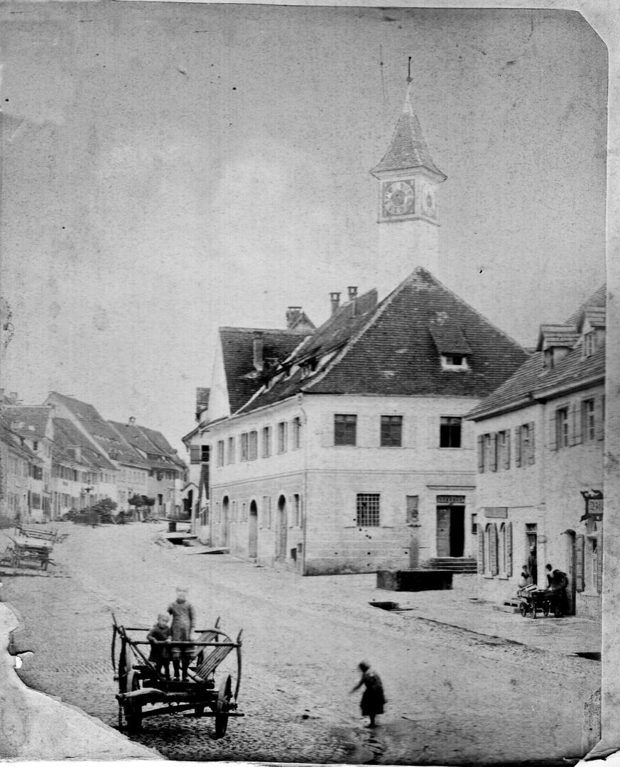 1899 Tettnang Montfortstraße Alte Sparkasse