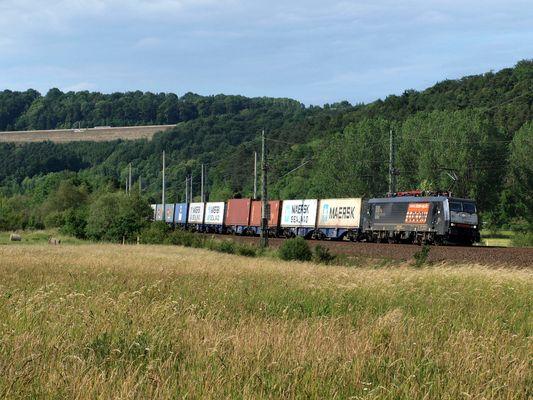 189er mit Containerzug