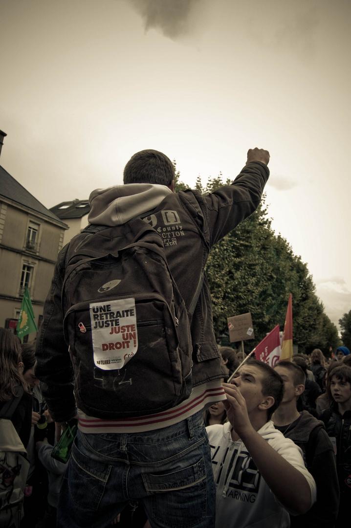 19 octobre 2010 la jeunesse dans la rue