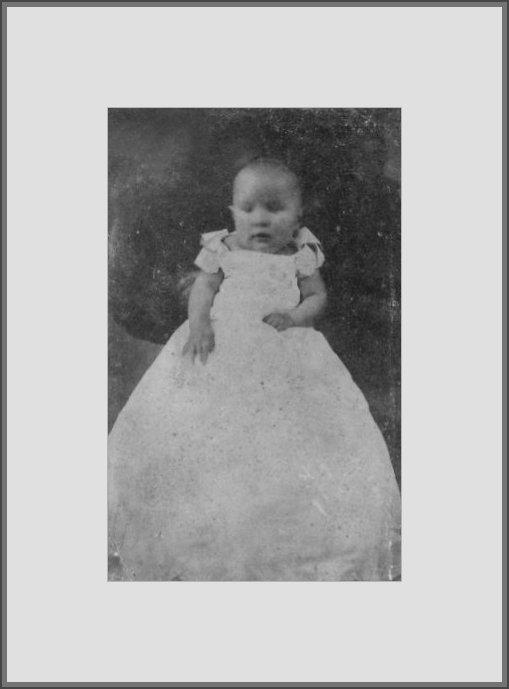 1903 - Porträt meine vater mit 6 monate