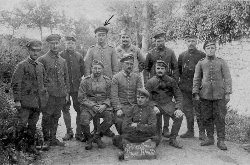 1914 in französischer Gefangenschaft