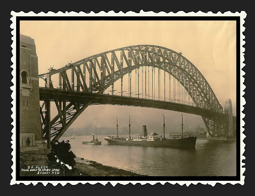 1933 ..S.S. Alster....