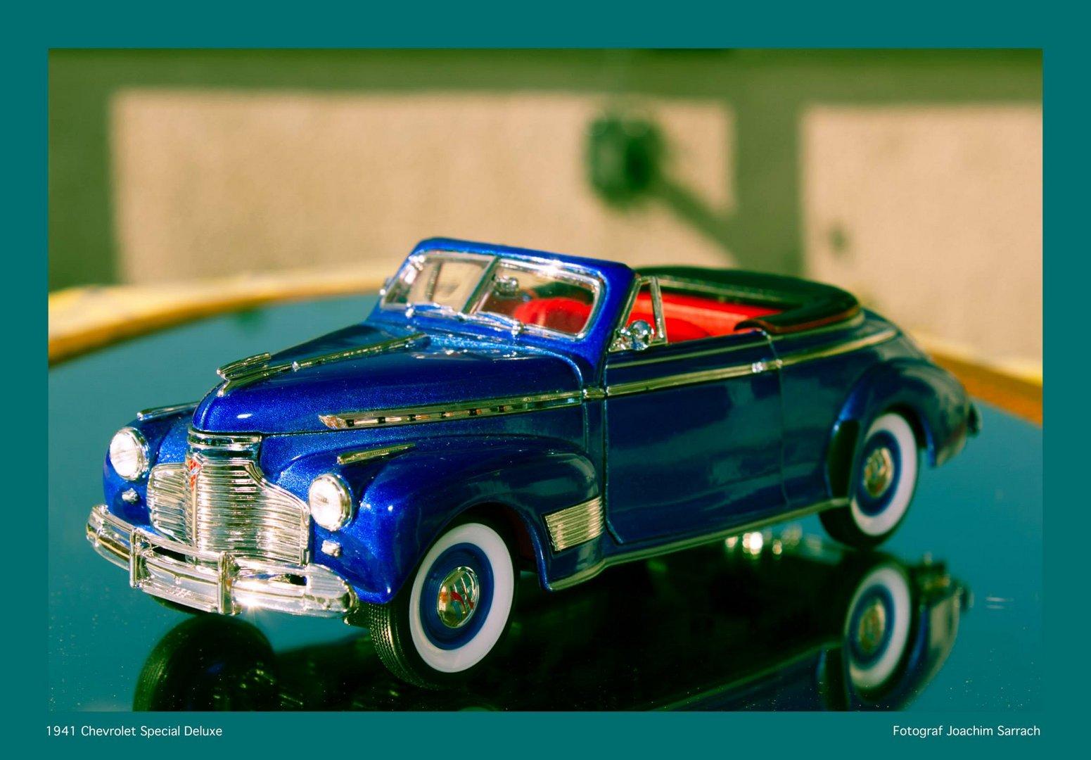 1941 Chevloret Special Deluxe 1