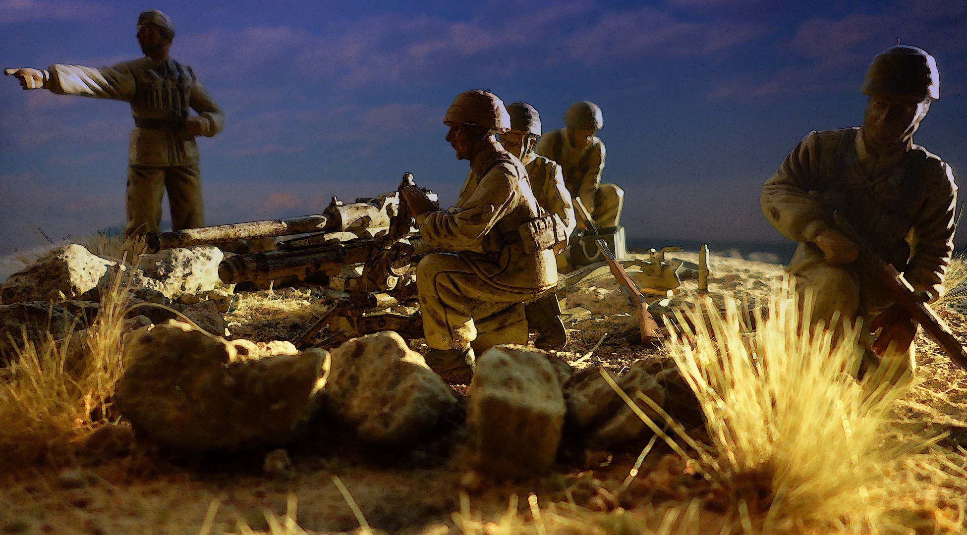 1942 El Alamein - Folgore Divisione