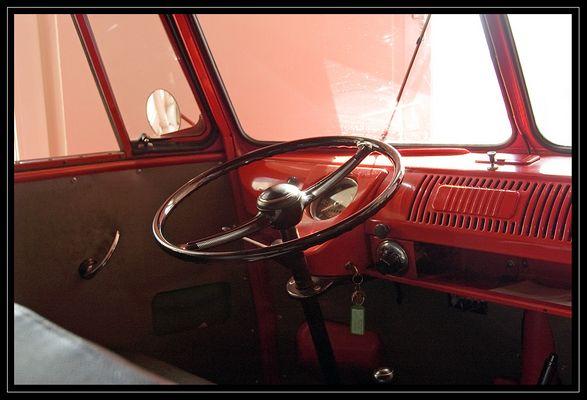 """1955er VW Bus T1 """"Bully"""", Innenraum"""