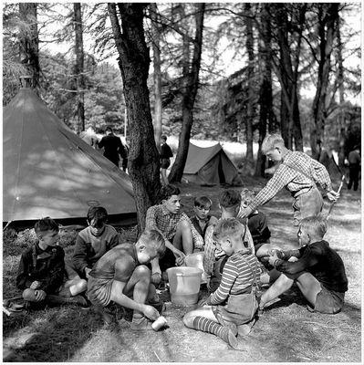 1956 Zeltlager Steinbachtalsperre (1)