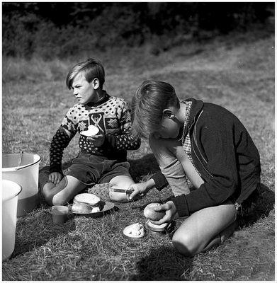 1956 Zeltlager Steinbachtalsperre (10)